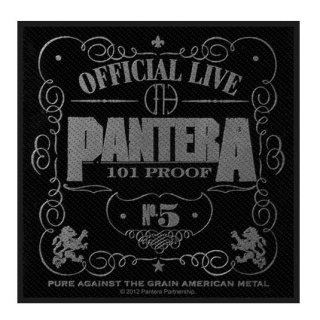 PANTERA Official Live 101% Proof, パッチ