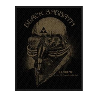 BLACK SABBATH Us Tour 1978, パッチ