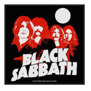 BLACK SABBATH Red Portraits, パッチ