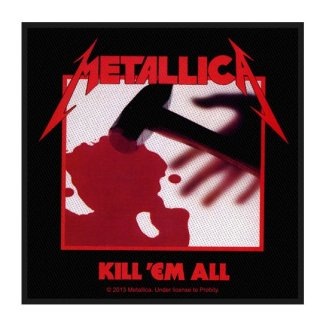 METALLICA Kill 'Em All, パッチ