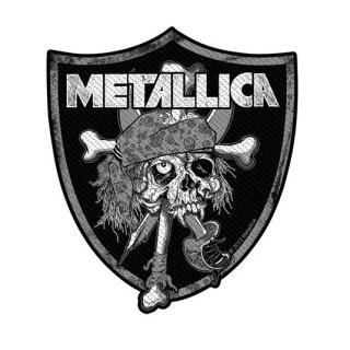 METALLICA Raiders Skull, パッチ