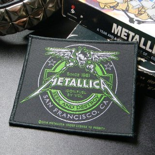METALLICA Beer Label, パッチ