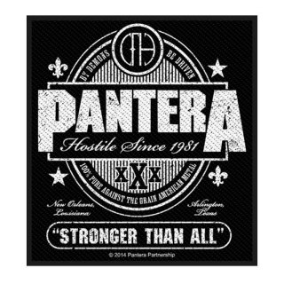 PANTERA Stronger Than All, パッチ