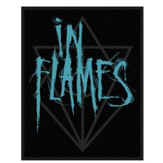 IN FLAMES Scratched Logo, パッチ