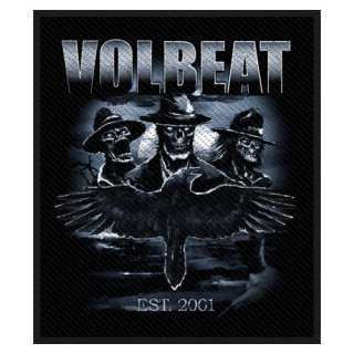 VOLBEAT Outlaw Raven, パッチ