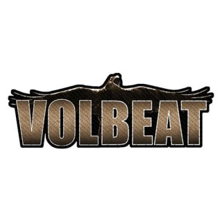 VOLBEAT Raven Logo Cut-Out, パッチ