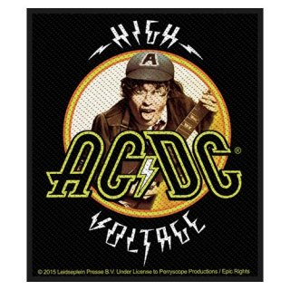AC/DC High Voltage Angus, パッチ