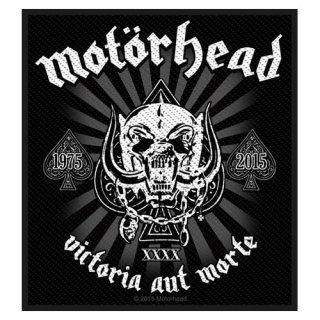 MOTORHEAD Victoria Aut Morte 1975 - 2015, パッチ