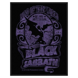 BLACK SABBATH Lord Of This World, パッチ