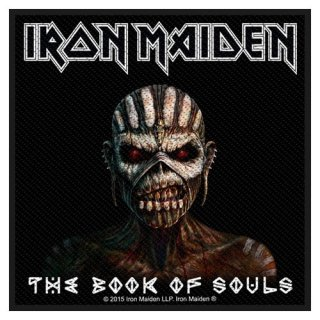 IRON MAIDEN The Book Of Souls, パッチ