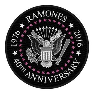 RAMONES 40th Anniversary, パッチ