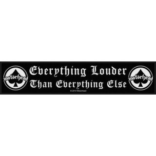 MOTORHEAD Everything Louder, ストライプパッチ