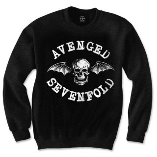 AVENGED SEVENFOLD Death Bat, スウェットシャツ