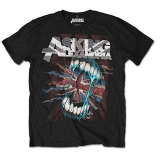 ASKING ALEXANDRIA Flag Eater with Back Printing, Tシャツ