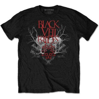 BLACK VEIL BRIDES Branches Skull, Tシャツ