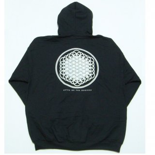 BRING ME THE HORIZON Flower of Life with Back Printing, Zip-Upパーカー