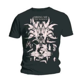 BRING ME THE HORIZON Skull & Bones, Tシャツ