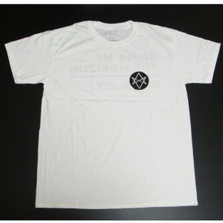 BRING ME THE HORIZON Distorted with Back Printing, Tシャツ