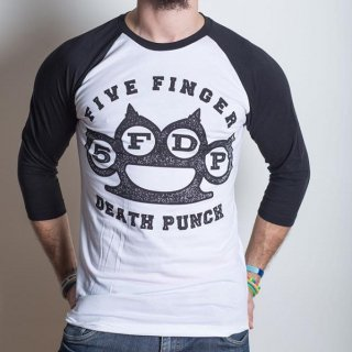 FIVE FINGER DEATH PUNCH Knuckles, ラグランロングTシャツ