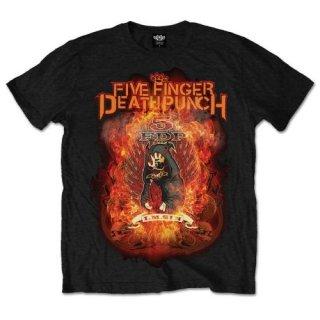 FIVE FINGER DEATH PUNCH Burn in Sin, Tシャツ