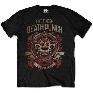 FIVE FINGER DEATH PUNCH Badge of honour, Tシャツ