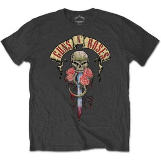 GUNS N' ROSES Dripping Dagger, Tシャツ