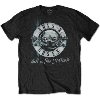 GUNS N' ROSES Not in this Lifetime Tour Xerox with Back Print, Tシャツ