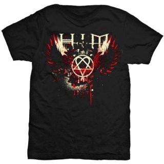 HIM Wings Splatter, Tシャツ