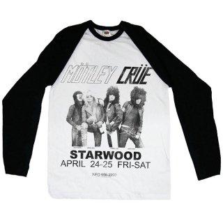MOTLEY CRUE Starwood Flyer 1981, ラグランロングTシャツ