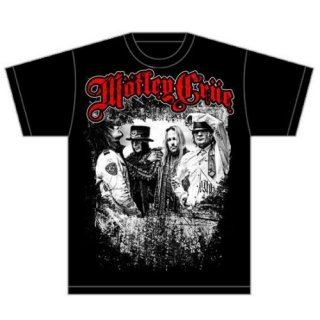 MOTLEY CRUE Greatest Hits Band Shot, Tシャツ