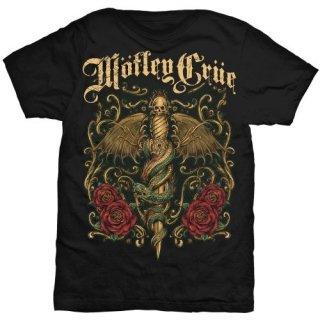 MOTLEY CRUE Exquisite Dagger, Tシャツ