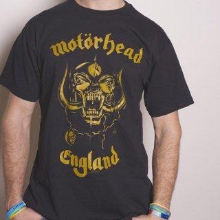 MOTORHEAD England Classic Gold, Tシャツ
