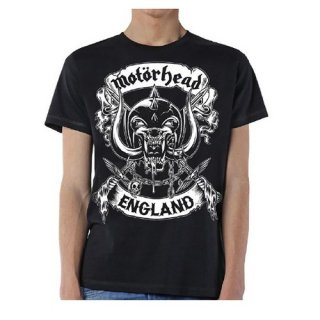 MOTORHEAD Crossed Swords England Crest, Tシャツ