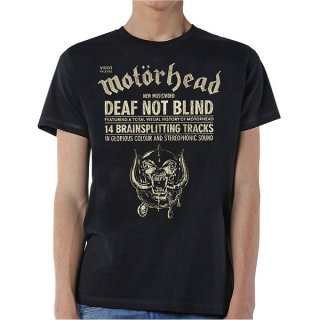 MOTORHEAD Deaf Not Blind, Tシャツ