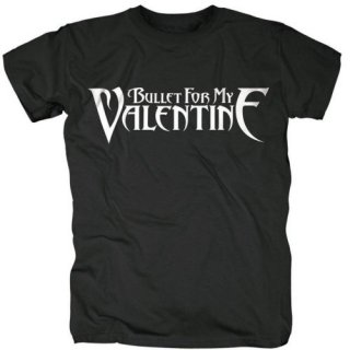 BULLET FOR MY VALENTINE Logo, Tシャツ