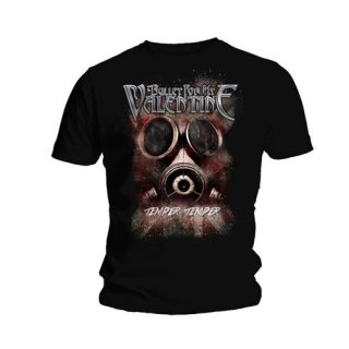 BULLET FOR MY VALENTINE Temper Temper Gas Mask, Tシャツ