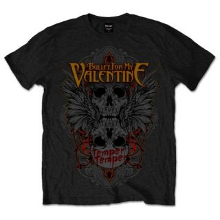 BULLET FOR MY VALENTINE Winged Skull, Tシャツ