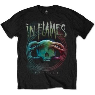 IN FLAMES Battles Circle, Tシャツ