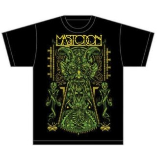 MASTODON Devil On Black, Tシャツ
