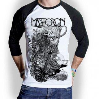 MASTODON Hermit, ラグラン七分袖シャツ