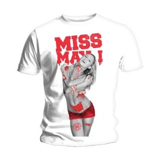 MISS MAY I Gore Girl, Tシャツ