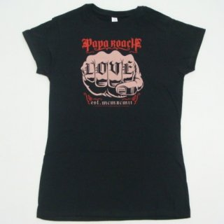 PAPA ROACH Love With Skinny Fitting, レディースTシャツ