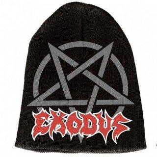 EXODUS Logo-pentagram 9, ニットキャップ