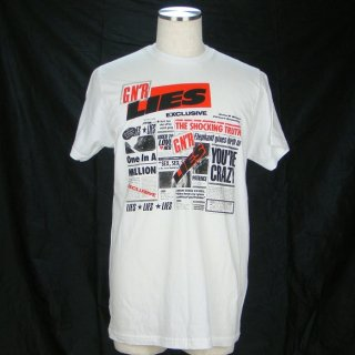 GUNS N' ROSES Lies Wht, Tシャツ