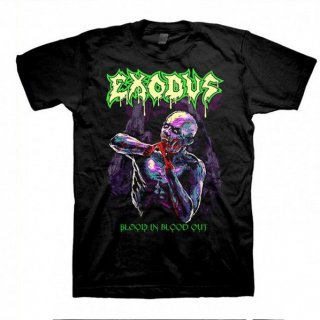 EXODUS Blood In Blood Out Glow Ss, Tシャツ