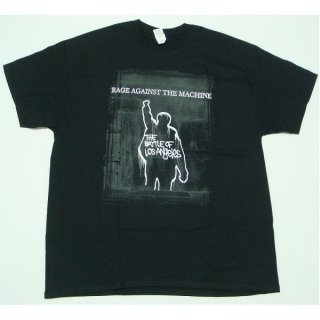 RAGE AGAINST THE MACHINE Bola Euro Tour, Tシャツ