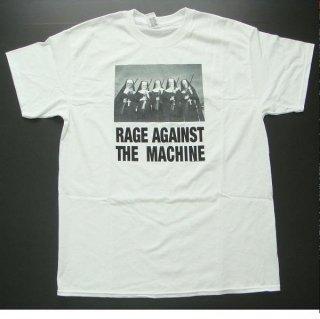 RAGE AGAINST THE MACHINE Nuns And Guns White, Tシャツ