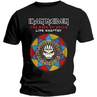 IRON MAIDEN Book Of Souls Live Chapter, Tシャツ