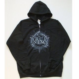 ARCH ENEMY Skull Bat, Zip-Upパーカー
