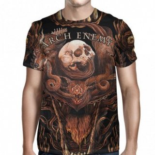 ARCH ENEMY Will To Power Allover, Tシャツ